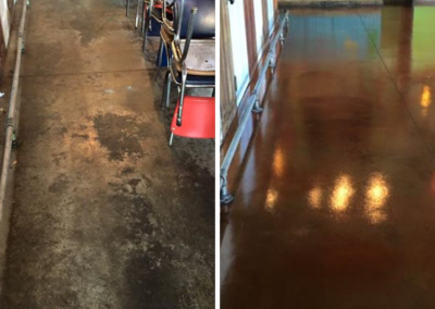 Before and After SealMaxx of Columbus