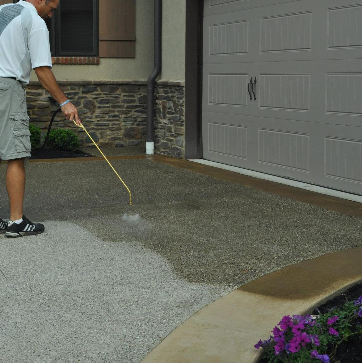 Get your concrete driveway sealed